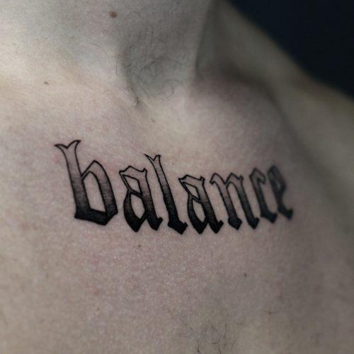 Tattoo - Clarence Milas - Balance