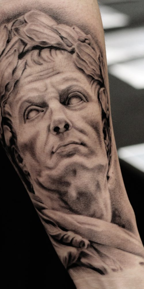 Tattoo - Xander Mulder - Julius Caesar