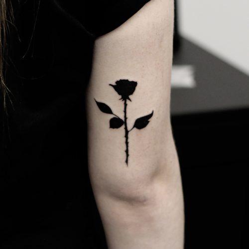 Tattoo - Clarence Milas - Black Rose