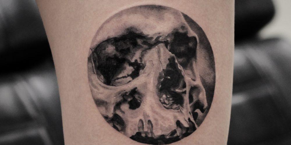 Tattoo - Xander Mulder - Skull
