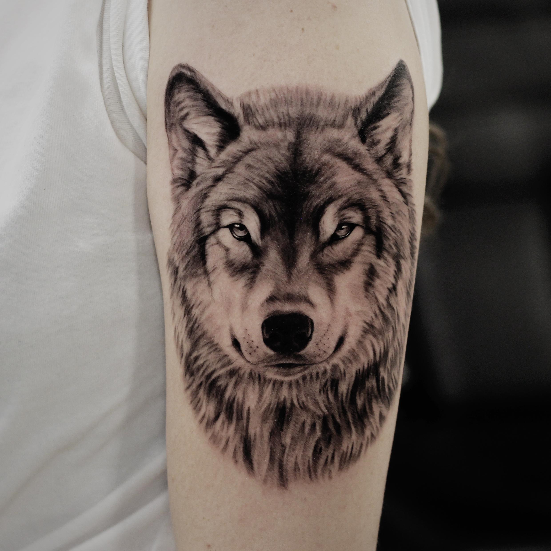 Tattoo - Xander Mulder - The wolf